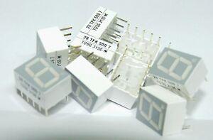 10 x TDSG-3150-M 10mm common anode LED dispaly Vishay TFK Telefunken