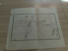 1897 Chicago River Channel North Ave Bridge Illinois Weed Street RR Diagram Map