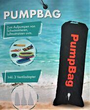XL PUMPBAG Pumpsack clevere Luftpumpe Pumpe für Luftmatratze Planschbecken Boot