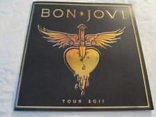 BON JOVI 2011 The Circle Concert Tour Program Book!!!