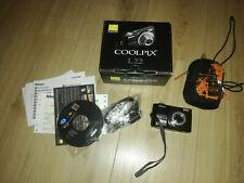Nikon COOLPIX L22 12,0 MP Digitalkamera - Schwarz