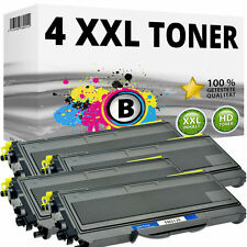 4x toner pour brother hl-2140 2150n 2170w DCP 7030 7040 MFC 7320 7340 7440 N 7840w