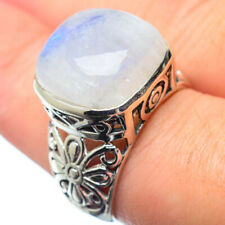 Rainbow Moonstone 925 Sterling Silver Ring Size 7.5 Ana Co Jewelry R28522F