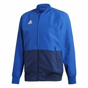 Size Large Adidas Condivo 18 Presentation Climalite Jacket 2-Tone Blue - BNWT