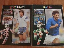MONDIALI CALCIO ITALIA '90 PRESENTAZIONE 4 NAZIONALI ITALIA USA AUSTRIA CECOSLOV