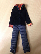 Barbie Doll My Scene Ken River Jacket W/ Shirt Sleeves Collar Outfit Clothes