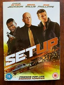 The Set-Up DVD 2011 Crime Thriller Movie w/ Bruce Willis and 50 Cent + Slipcover