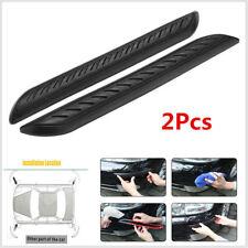 2 x Universal Car Soft Rubber Corner Angle Protector Door Guard Cover Crash Bar