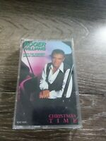 Roger Williams Christmas Time Cassette~w/The Concert Grand Orchestra~VG~Shipn24