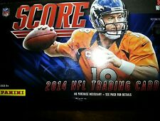 2014 Score Football Base Inserts U Pick 10 Hot Rookies Franchise Field Commander