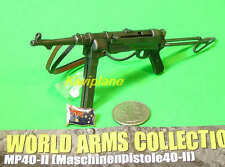 Ftoys_#5 1:6 Scale Action Figure WW2 GERMAN ARMY MACHINE GUN MODEL SMG MP40-II