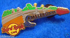 AMSTERDAM DUTCH BRIDGE SERIES GUITAR #5 Hard Rock Cafe PIN LE (49777)