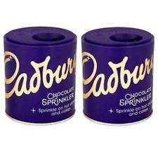 2 X Cadbury Sprinkler-Sprinkle On Top Of Coffee,Cappuccino,Hot Chocolate & Cakes