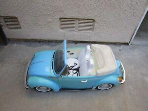 American Girl-Julie Volkswagon Beetle Car- 1974 Blue Retired