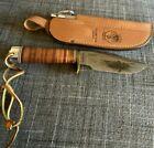 RARE (GROHMANN SKINNER) DUCKS UNLIMITED (GUIDE SERIES) KNIFE STEEL w/SHEATH