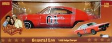 AUTO WORLD 1:18 SCALE DIECAST METAL GENERAL LEE 1969 DODGE CHARGER