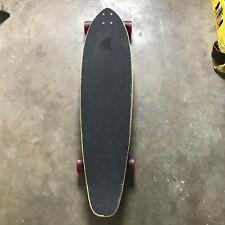Punked Longboard Skateboard Rasta Speed Cruiser