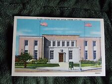 Vintage Postcard United States Post Office, Panama City, Fla.