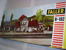 Faller B-102 Ho scale Big Train Station Plastic Model Building Kit Made Germany