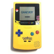 Pokemon Pikachu Edition Nintendo Game Boy Color (GBC) Yellow and Blue Shell