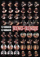Antonio Rodrigo Nogueira & Babalu Signed Rings MMA Program Stickers PSA/DNA UFC