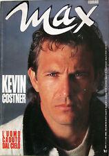 MAX 2 1988 Kevin Costner Frank Zagarino Melany Rogers Grace Jones Apollonia