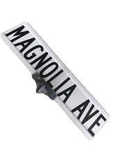 Magnolia Avenue Wildwood NJ Authentic Vintage Street Sign With Original Hardware
