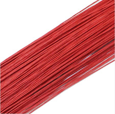 50PCS Red #26 Paper Covered Wire DIY Nylon Stocking Flower Making