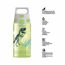 SIGG Water Bottle 0.5 L Viva One Jurassica Kids Boy Dinosaurs Green New 900130
