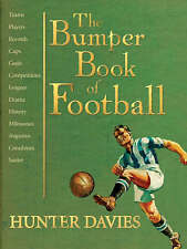 The Bumper Book of Football by Hunter Davies (Hardback Brand New Sealed..gift