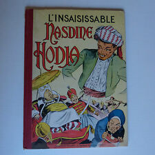 l'insaisissable NASDINE HODJA en EO 1953 collection vaillant