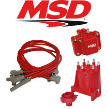 MSD Ignition Tuneup Kit 1987-95 Chevy/GMC Ext Coil 4.3L V6 Cap/Rotor/Coil/Wires