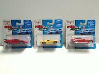 Maisto Lot of 3 Lamborghini Miura, Countach, Corvette Stingray NIP