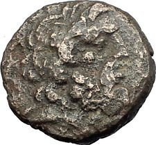 THESSALONICA Macedonia 1stCenBC RARE R2 Ancient Greek Coin JUPITER GALLEY i61552