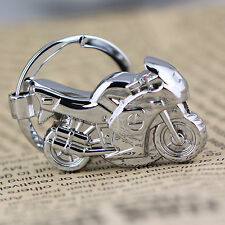Classic 3D Led Light Model Motorcycle Motorbike Keychain Key Chain Ring Keyring