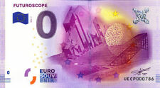 86 JAUNAY-CLAN Futuroscope, N° de la 8è liasse, 2016, Billet 0 € Souvenir