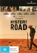 Mystery Road NEW DVD Hugo Weaving Ryan Kwanten Jack Thompson REGION 4 Australia