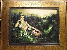 Quan Yin, (aka Guan yin, Guanyin, Kwan Yin, Kuan Yin) Oil Painting (30 x 40)