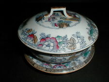 Ashworth Brothers Chinese Oriental Ladies 4 Pc Soap Dish w Drain Insert