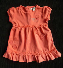Baby clothes GIRL 0-3m Little Rocha soft brushed cotton peach dress COMBINE POST