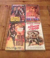VHS Video - Jackie Chan Bundle