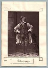 France, Paris, Théâtre, Montrouge  Vintage print.  Louis-Émile Hesnard, dit « Mo