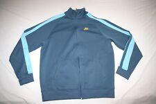 Nike Sweat Athletic Jacket Men L NEW Blue