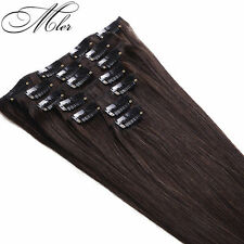 Brazilian hair Virgin Ribbon Ponytail Remy Human Hair Clip In Hair Extensions
