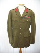 Historic British WWII Senior High Ranking Officers Tunic Lt. Colonel F.F. Godley