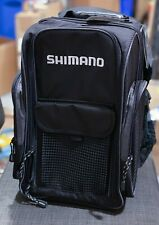 New Shimano Blackmoon Compact Fishing Black Backpack Blmbp270Bk
