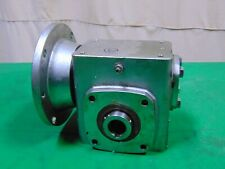 """Sterling Stainless Steel Right Angle Gearbox Gear Reduction Reducer 5:1 5/8"""" 1"""""""