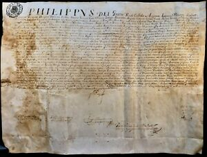 KING OF SPAIN & PORTUGAL PHILIP IV APPOINTMENT OF CARLO PIGNATARO IN NAPLES 1662
