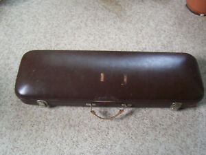 Original JAEGER ETUI Hard Violin Case Vintage