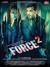 FORCE 2 (2016) JOHN ABRAHAM, SONAKSHI SINHA - BOLLYWOOD HINDI DVD